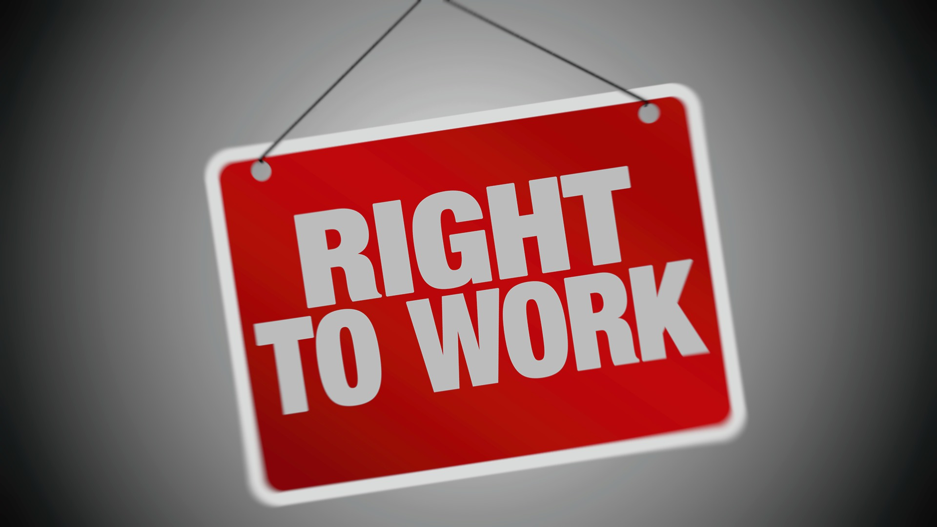 Doesn't everyone have a right to work? What the laws are about.