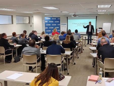 Chamber Education Series - 3 Keys to Smashing Your Sales Goals