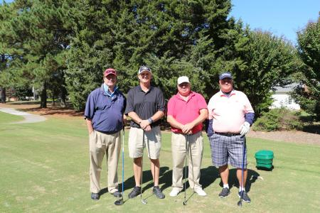 (from left) Randy Darden, Brian Stickles, Mike Luning, Ty Mutlow - All from Dewberry