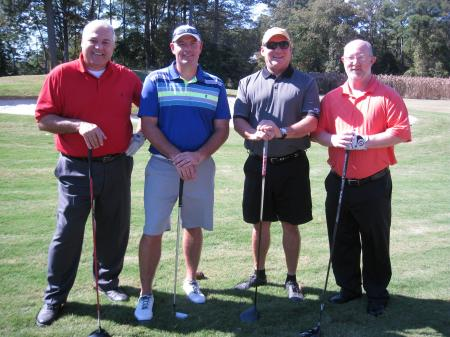 (from left) Tim Peters, James Lyles, Al Collado, Earl Sanders - All from Sheraton Norfolk