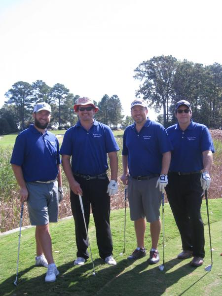 (from left) Ryan Glick, Ryan Gower, Casey Costello, Brian Gillespie - All from MacArthur Center