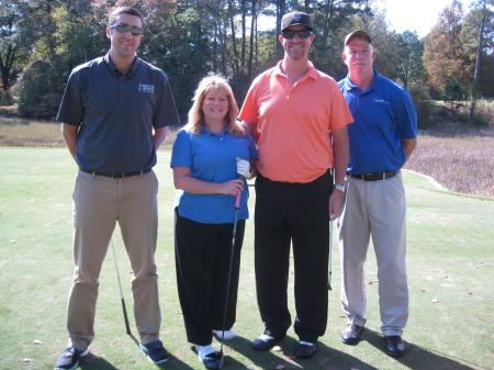 (from left) Bryan Miller, Diane Caldwell, Chris Caldwell, Larry Mitchell - All from Virginia Beach Convention Center