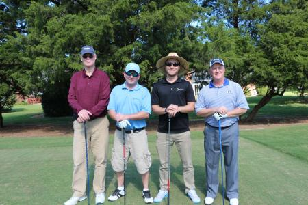 (from left) Dallas Marlow, Dan Norman, Jim Doerflinger, Jeff Minnix - All from Elizabeth River Crossing