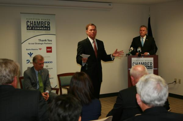 Governor McAuliffe Visits the Chamber