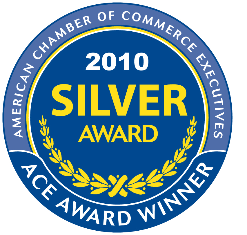 American Chamber of Commerce Executives (ACCE) Award for Communications Excellence