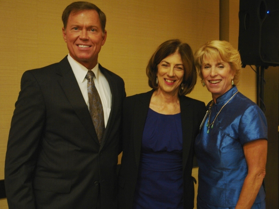 (left) Bryan K. Stephens, Alexis Gelber and Jennifer Smith