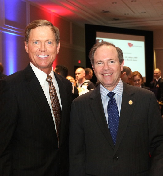 President & CEO of the Hampton Roads Chamber of Commerce Bryan K. Stephens and Delegate Chris Stolle