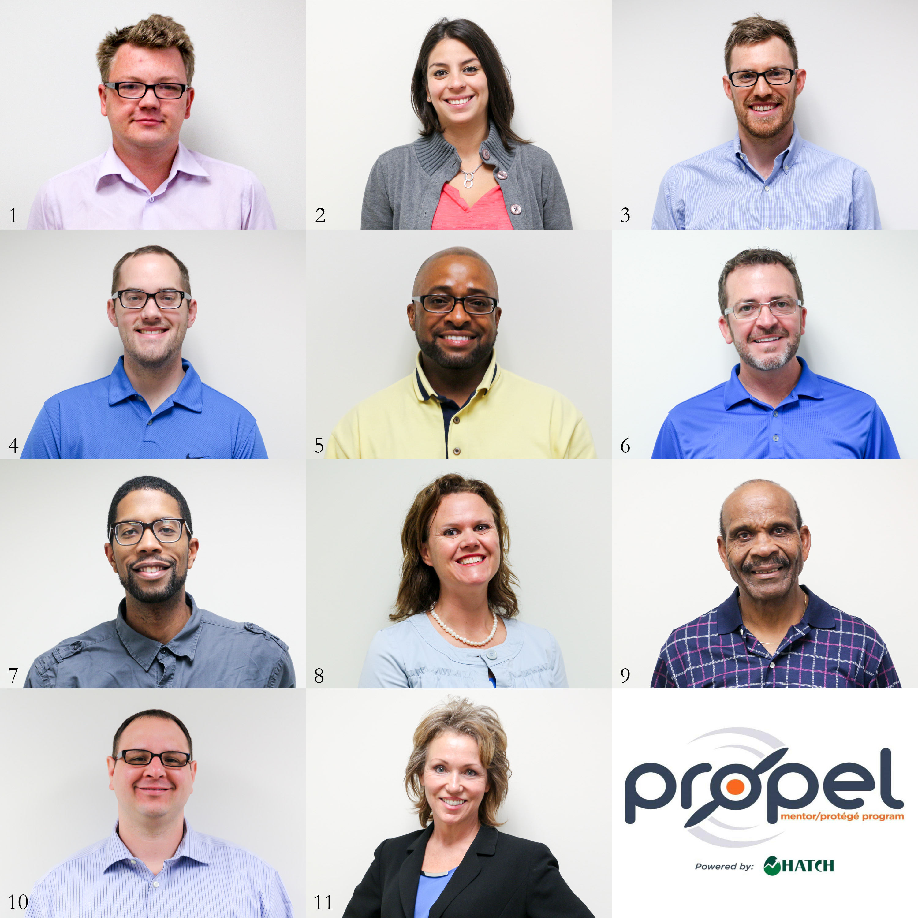 Photo Collage of Propel Entrepreneurs