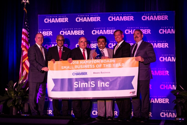SimIs, Inc.: 2018 Hampton Roads Chamber Small Business of the Year