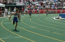 Track/Field competitions at Norfolk State University