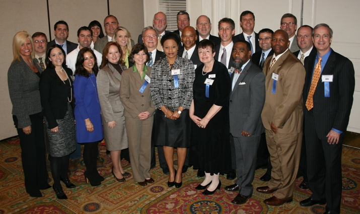 32 of the region's newest top executives were honored