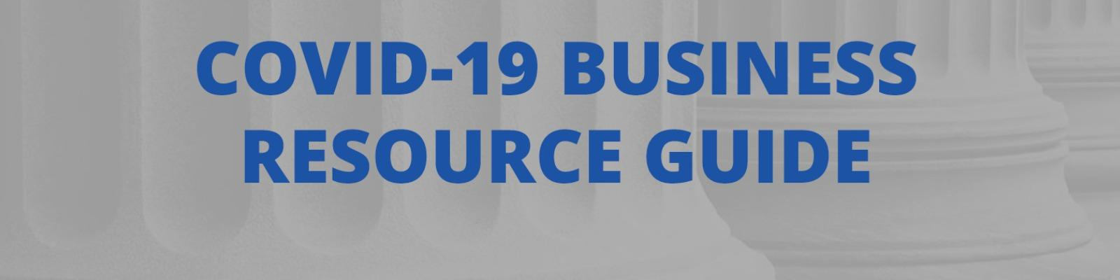 COVID-19 Business Resource Guide for Hampton Roads Cover