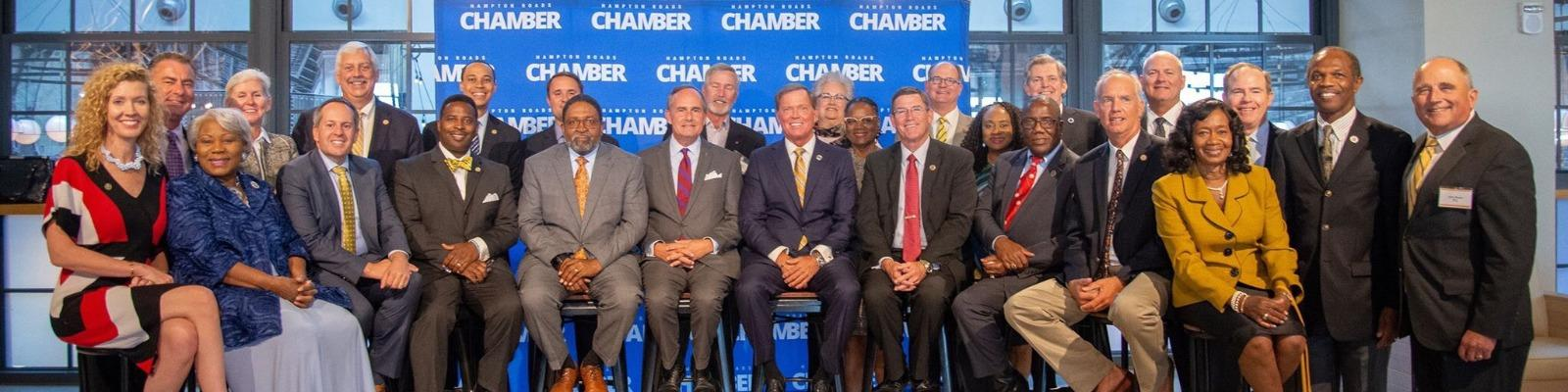 Legislators Convened for the Hampton Roads Chamber's 2019 Legislative Reception Cover