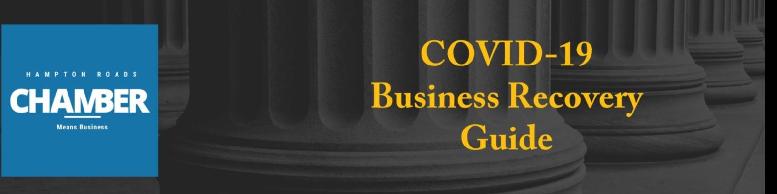COVID-19 Business Recovery Guide for Hampton Roads Cover