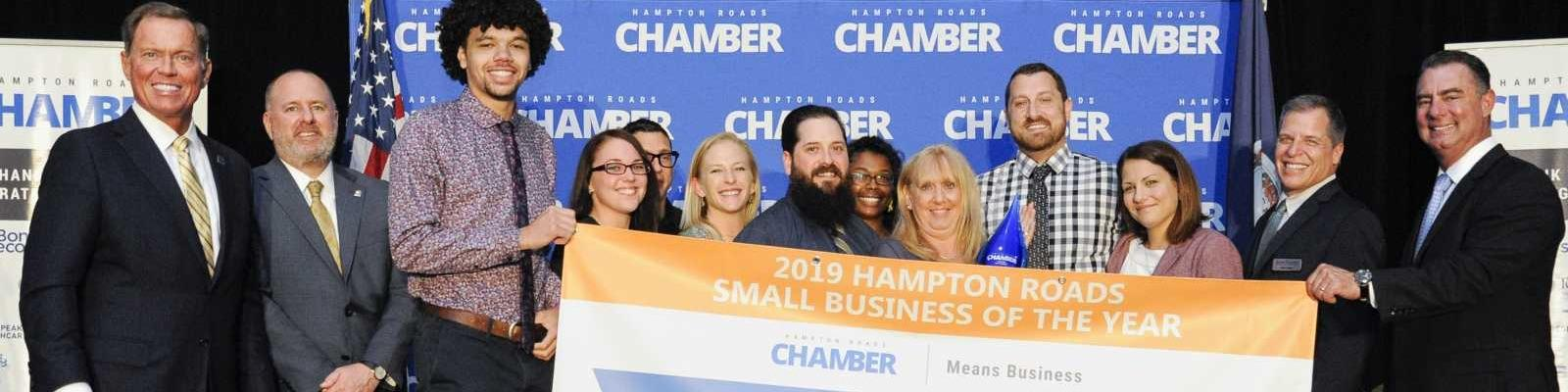 2019 Hampton Roads Small Business of the Year - The Dirty Buffalo Cover