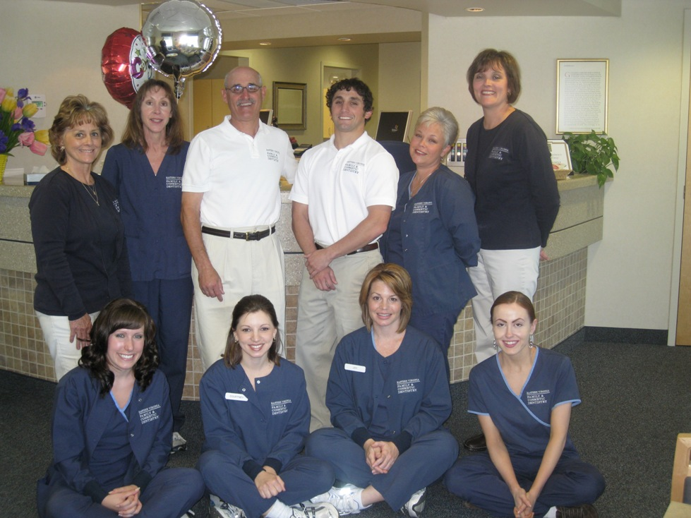 Drs. Jeffrey and Barclay Weisberg and staff of Eastern Virginia Family & Cosmetic Dentistry