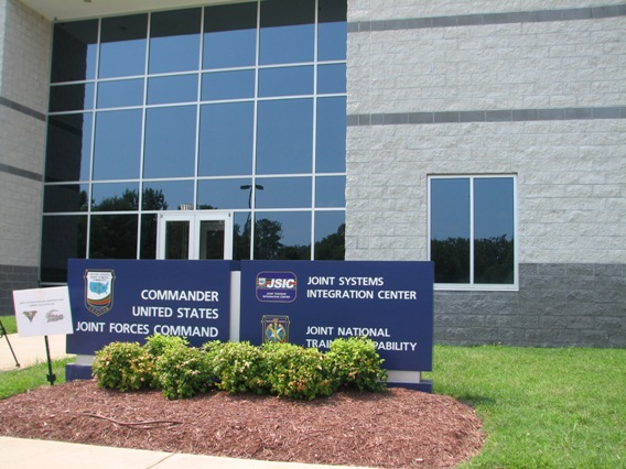 Joint Systems Integration Center at JFCOM/Photo courtesy of the Suffolk News Herald