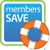 Members Save - Click here for more info.