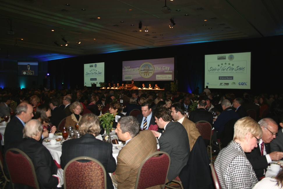 Nearly 1,000 people attended the Norfolk State of the City
