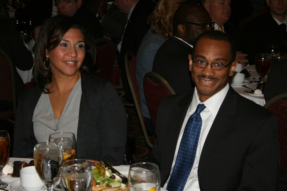 Norfolk's new City Manager Marcus Jones and his wife Jillian