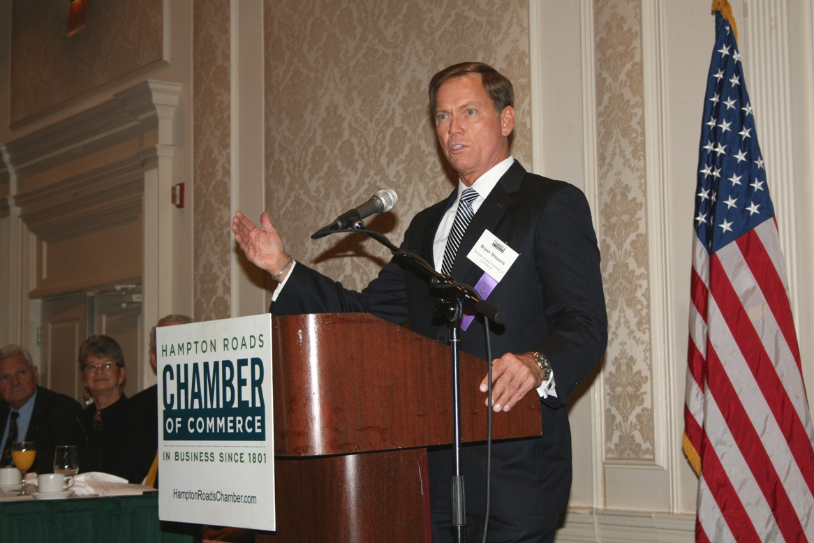 Bryan Stephens, President & CEO of the Chamber