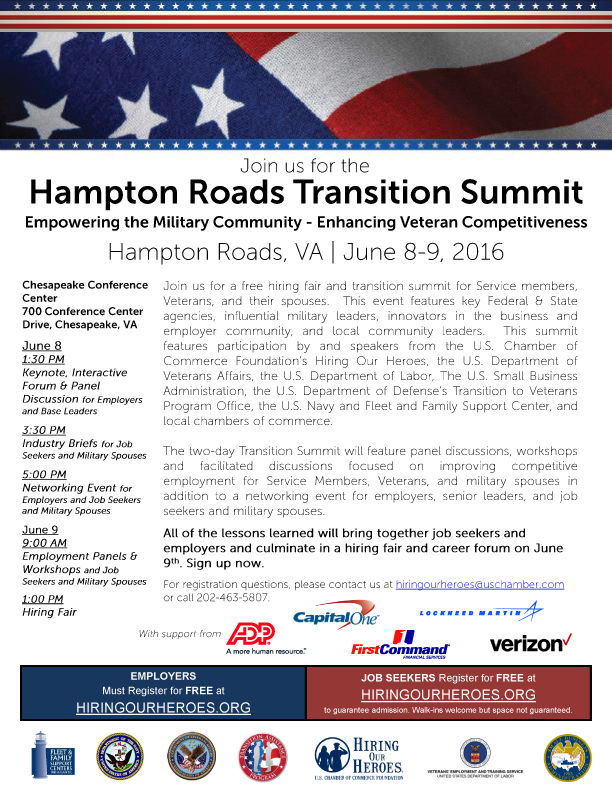 Hampton Roads Transition Summit