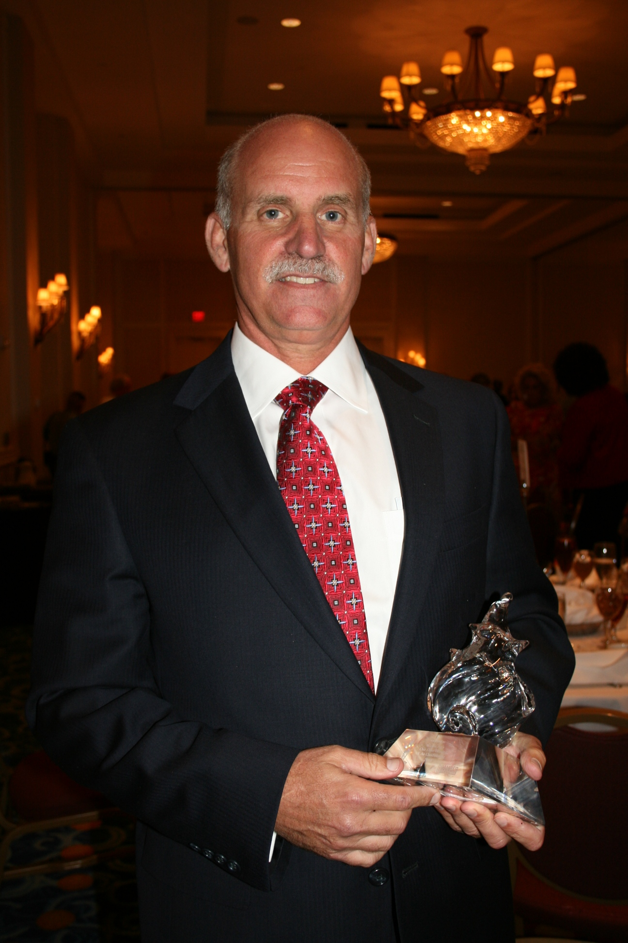 Todd Kletz, owner of Classic Air's One Hour Heating and Air Conditioning in Virginia Beach, was awarded the 2010 Hampton Roads Small Business of the Year Award