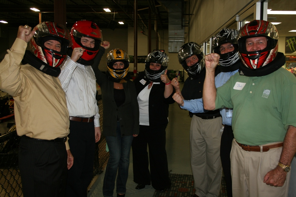 SRC volunteers get set to race at American Indoor Karting