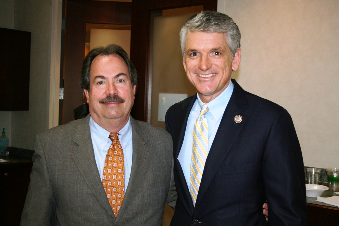 (from left) Tuck Bowie, Chamber's Virginia Beach Division Chair and Congressman Scott Rigell