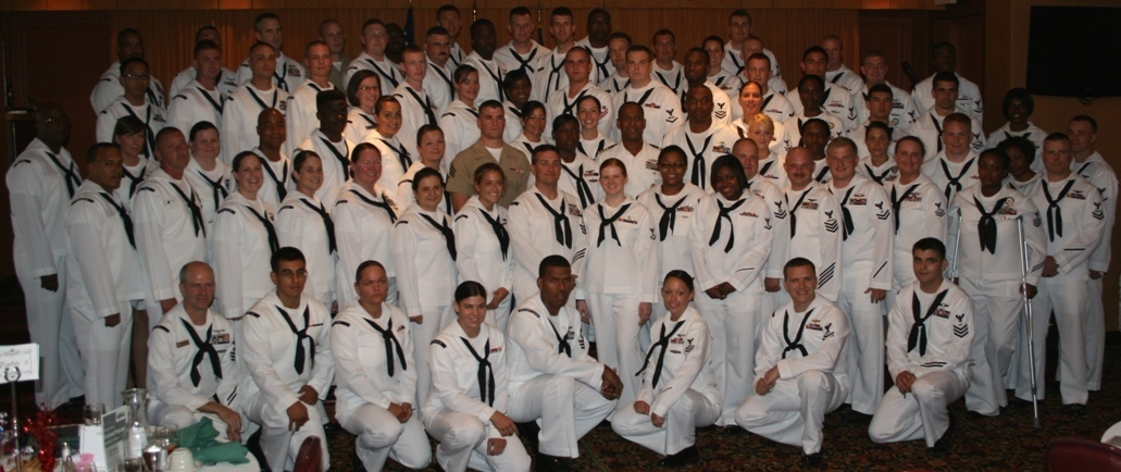 130 military personnel were honored at the awards luncheon