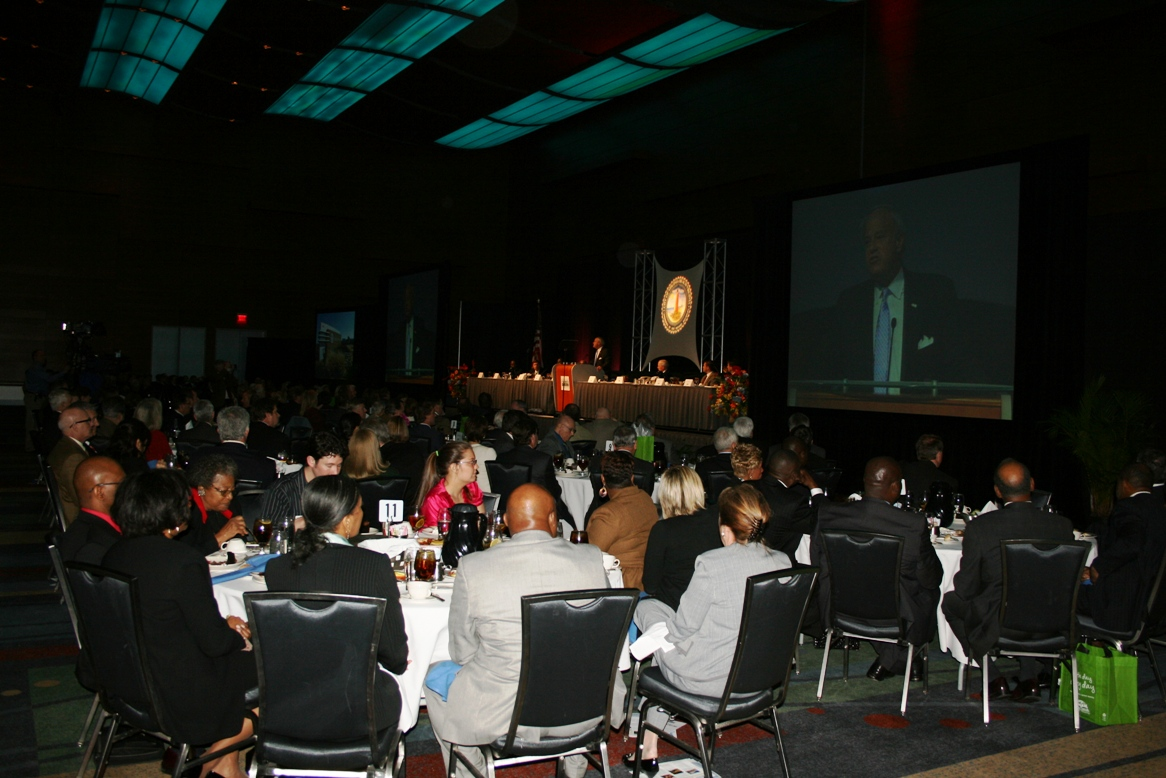 The Virginia Beach State of the City was sold out with 800 in attendance