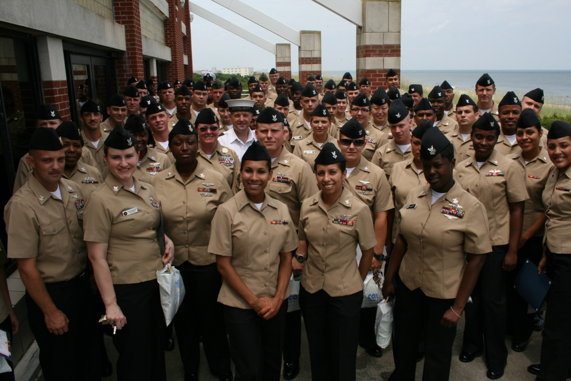 107 military personnel were honored at the awards luncheon