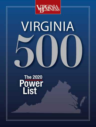 Hampton Roads Leaders featured in Virginia Business: Virginia 500, 2020 Power List!