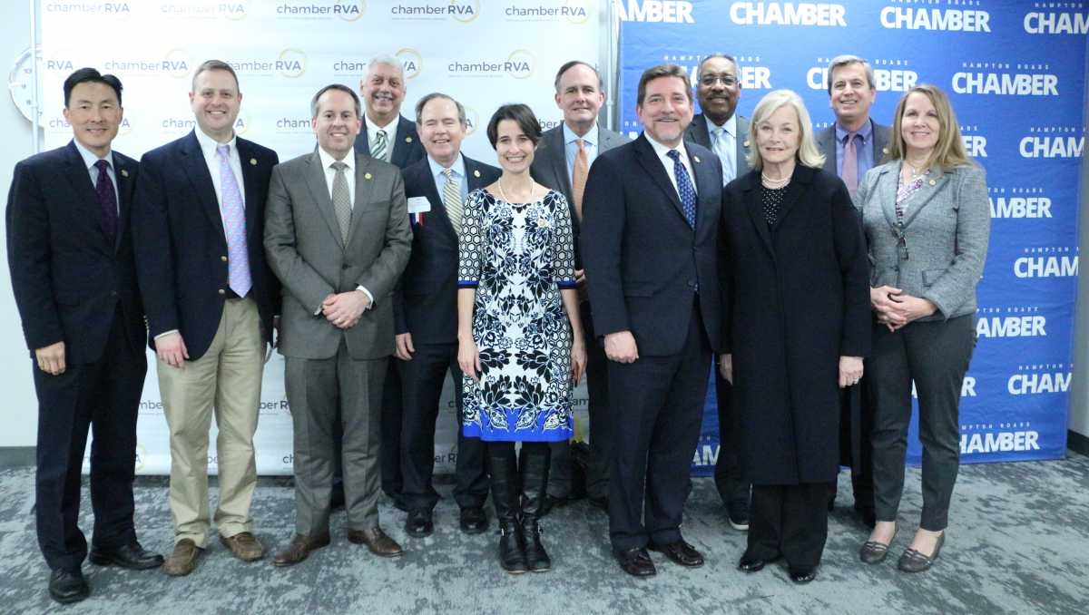 Three Chambers Host Joint Legislative Reception