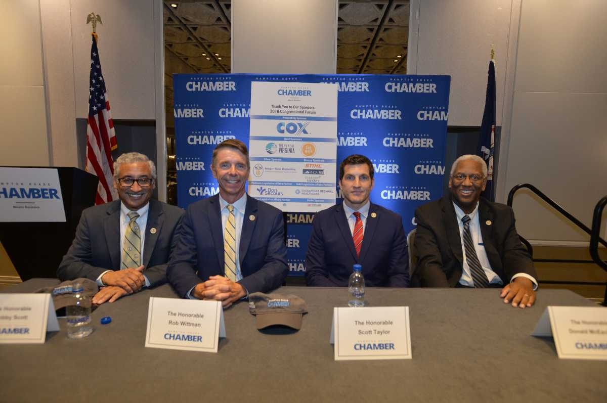 Hampton Roads Chamber brings Four Congressmen to Hampton Roads for forum