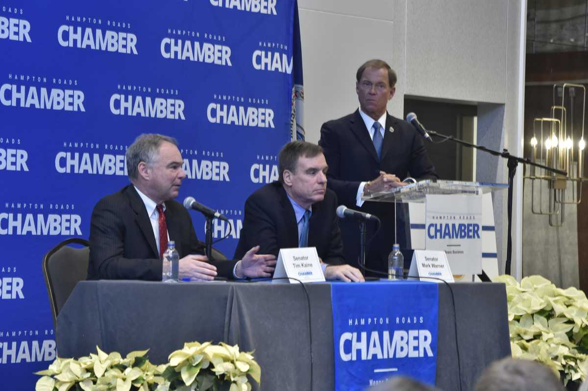 Chamber brings Virginia's Senators to Hampton Roads