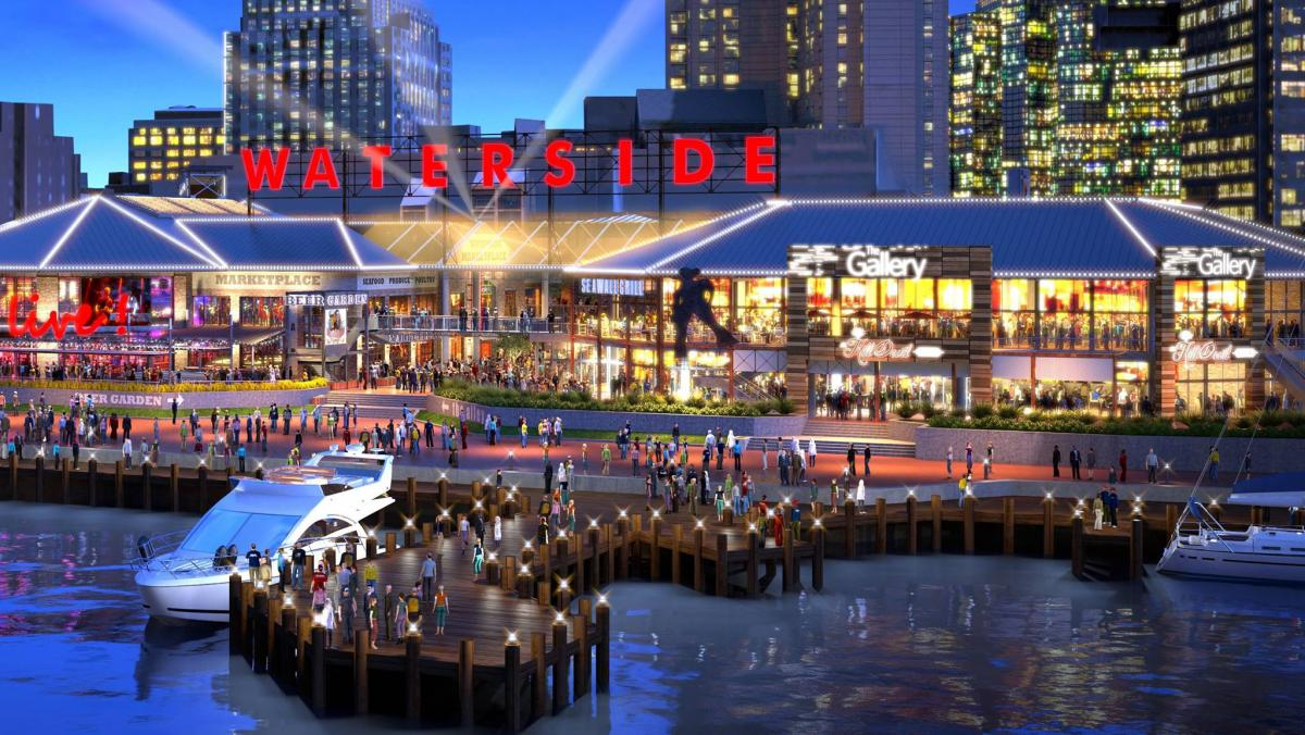 Waterside District Announces Grand Opening Celebration for May 11 - 14, 2017