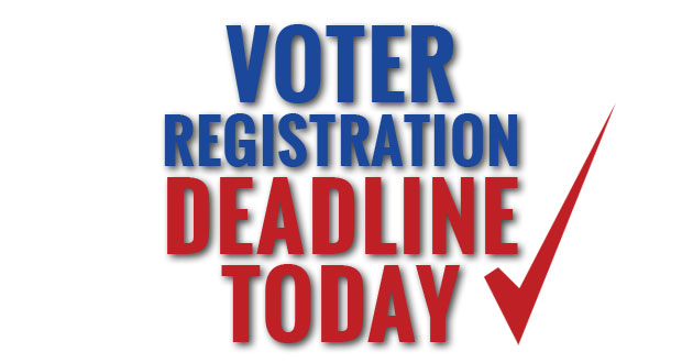 Virginia Voter Registration Deadline Extended through TODAY, October 21, 2016!