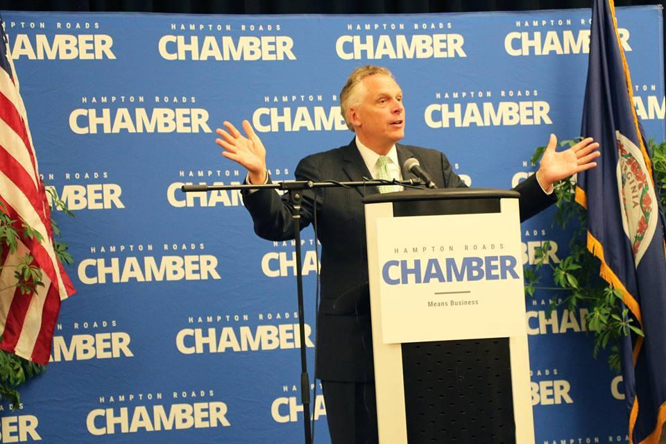Governor Terry McAuliffe and His Cabinet Visit Hampton Roads