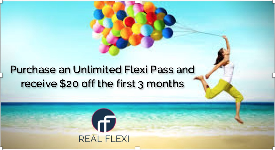 Real Flexi partners with the best studios to offer hundreds of fitness classes with ONE membership.