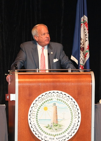 Mayor Sessoms ''Brings it Home'' at Virginia Beach State of the City