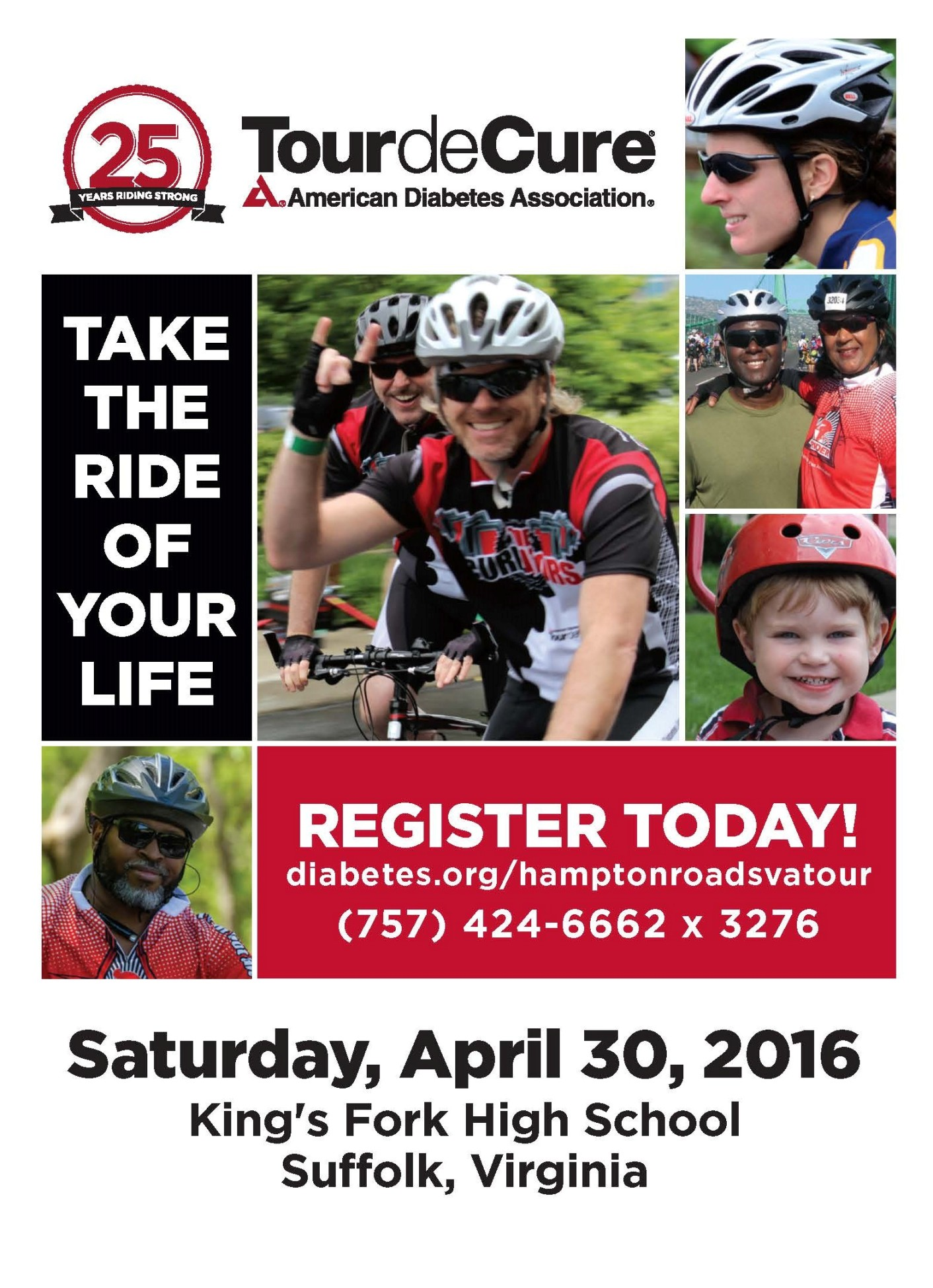 IT STARTS WITH YOU. Ride.Donate.Volunteer