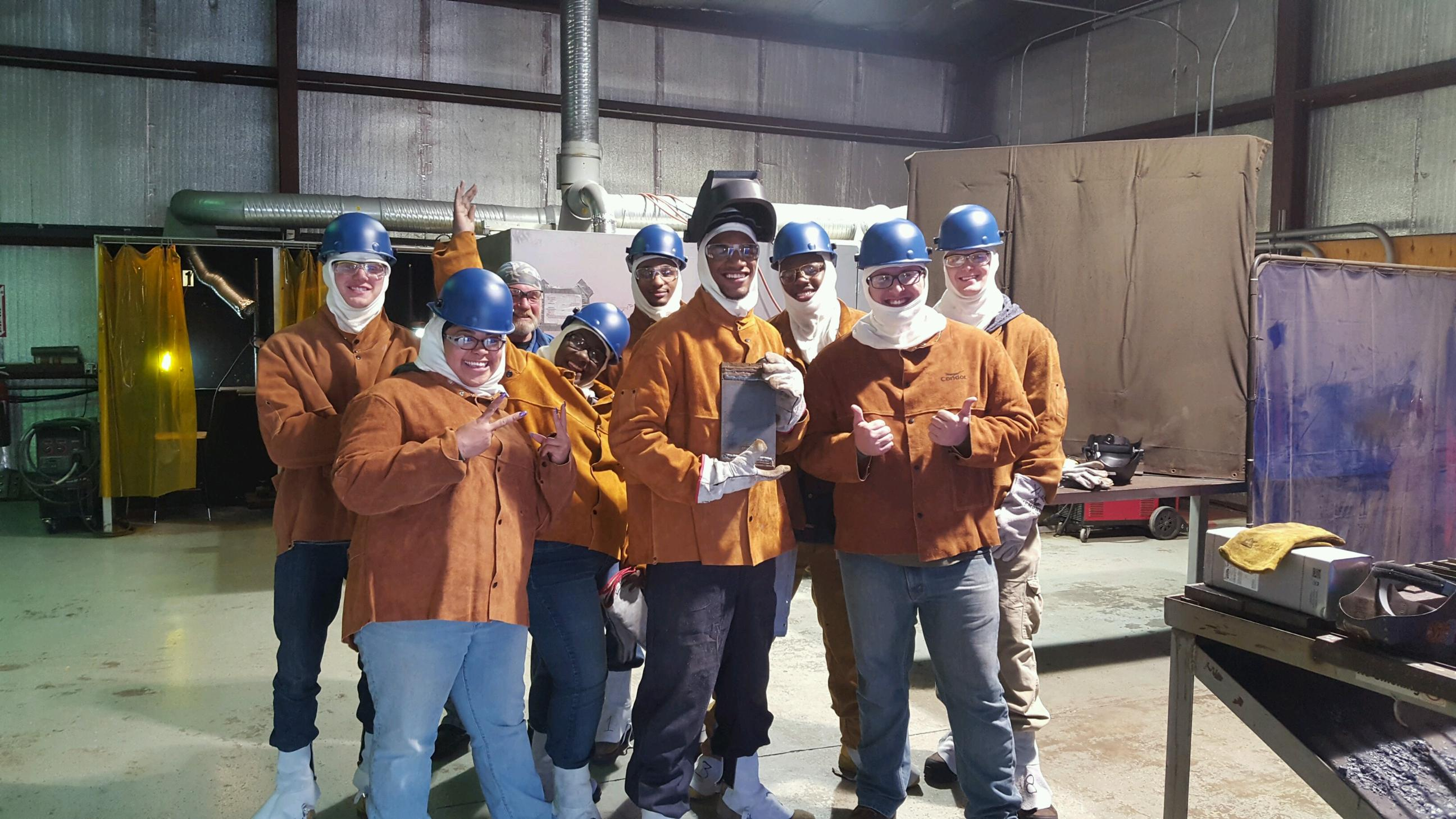 TCC partners with Virginia Ship Repair Association in marine welding