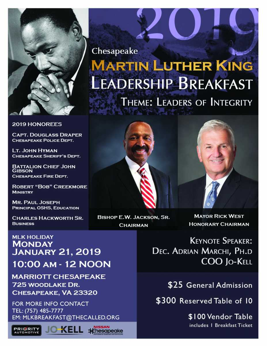 Chamber member honored at MLK leadership breakfast
