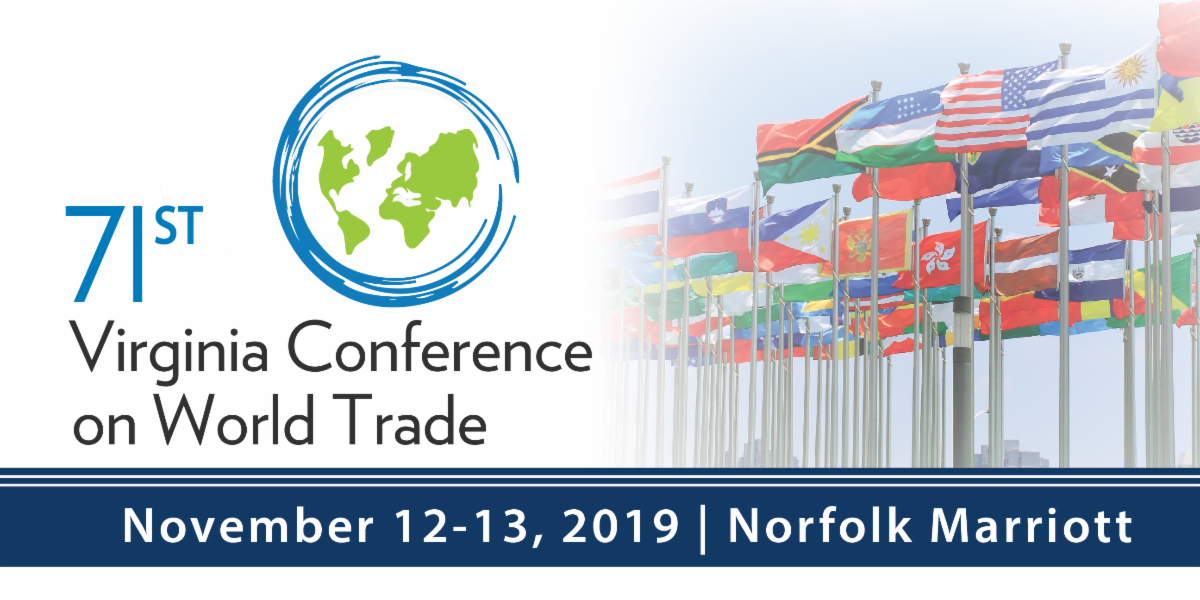 Virginia Chamber of Commerce Hosts World Trade Conference