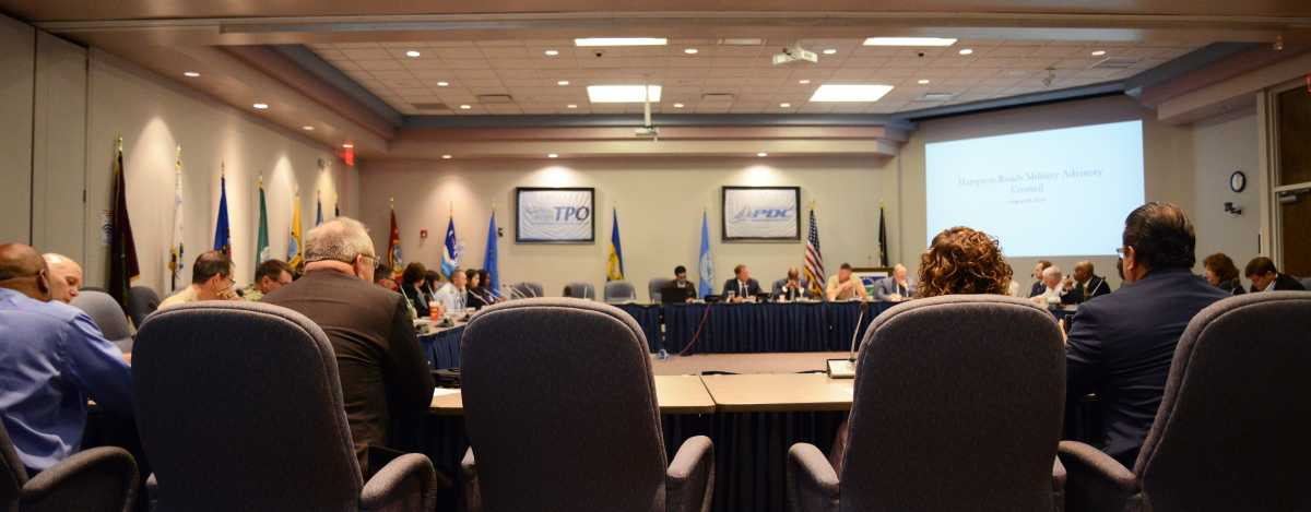 Hampton Roads Military Advisory Council Hosts Third Meeting of 2019