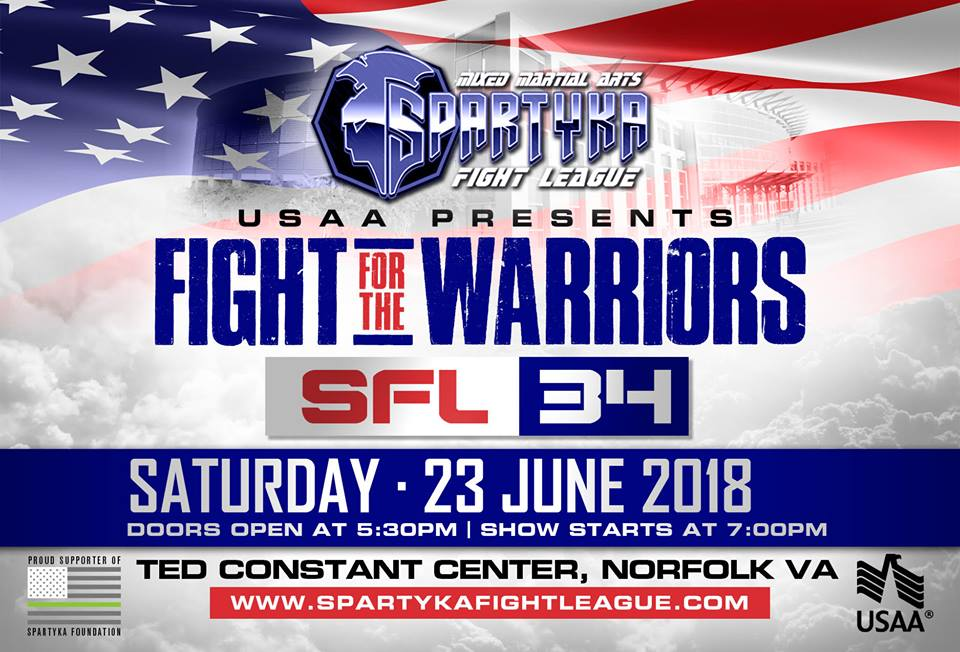 Spartyka SFL34 Fight For The Warriors