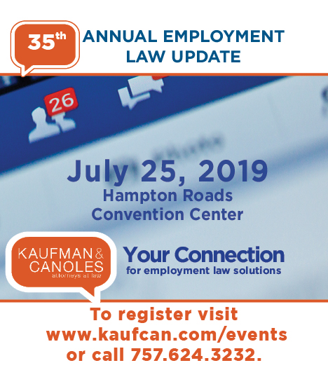 Kaufman & Canoles' 35th Annual Employment Law Update - Hampton