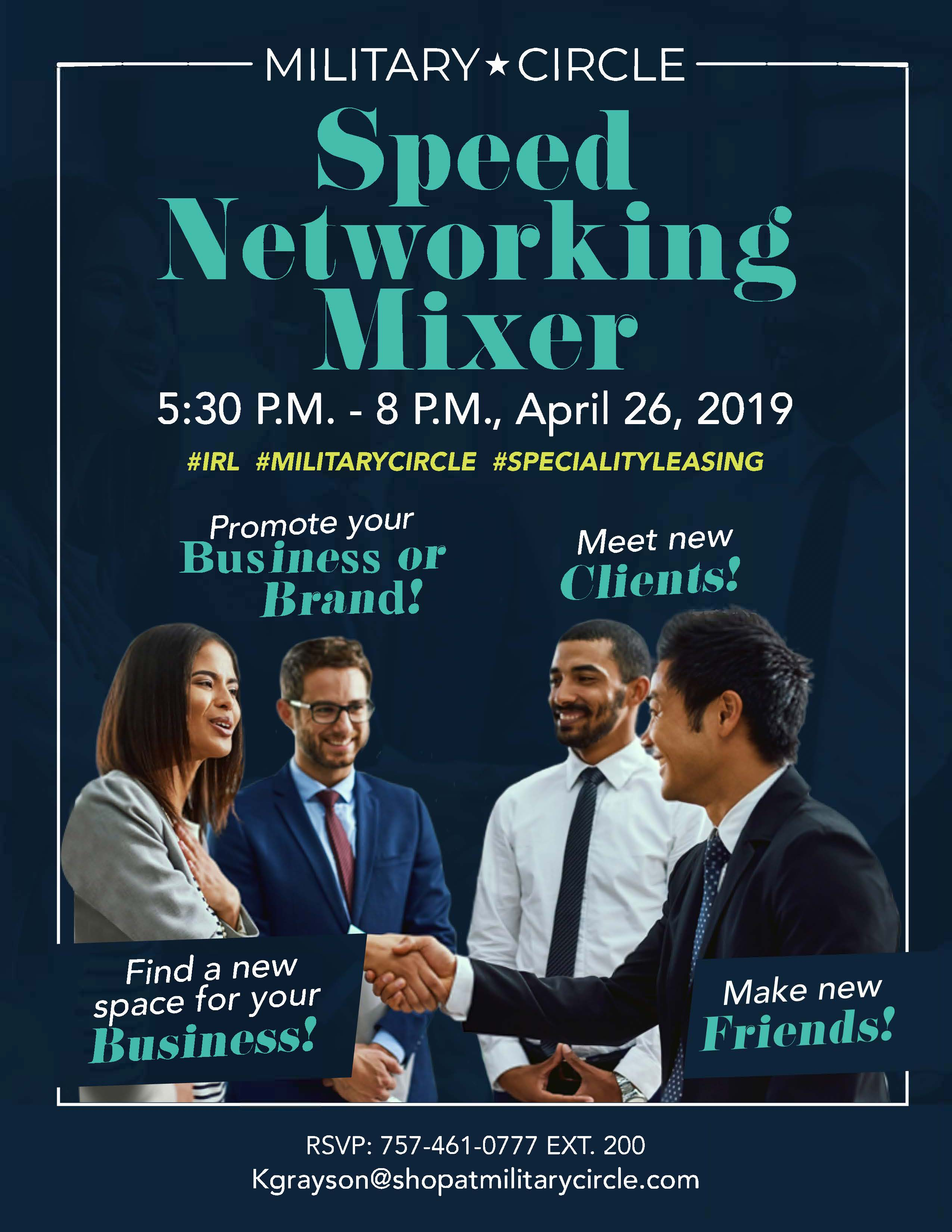 Speed Networking Mixer & Tour