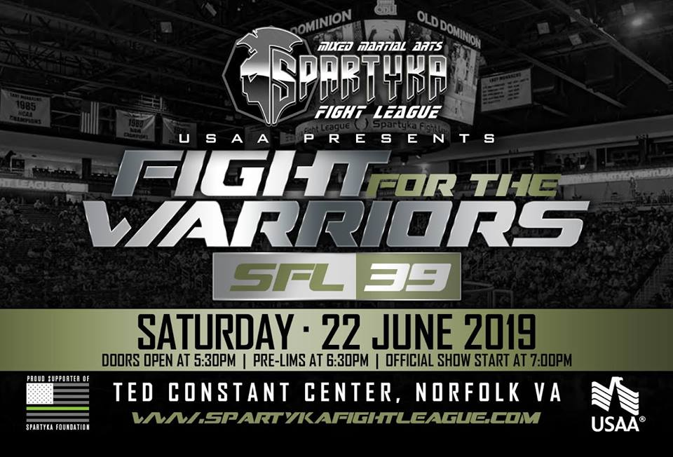Spartyka SFL39 Fight For The Warriors @ Ted Constant Center